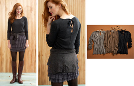 Downsize [LB83682] from Laurie b. knitwear Fall 11