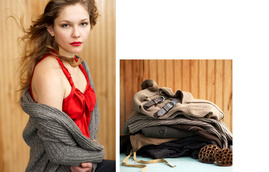 Crop Regent [LB83686] from Laurie b. knitwear Fall 11